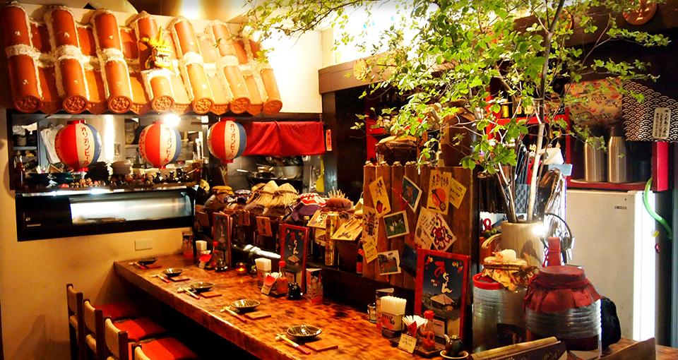 沖縄粟国島料理あぐぅ~ん|横浜市、東急田園都市線「たまプラーザ駅」にある沖縄料理
